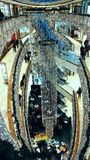 Shoping galleria Royaltyfri Fotografi