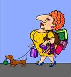 Shoping.pet Royalty-vrije Stock Afbeelding