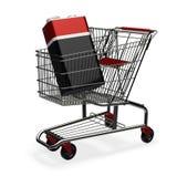 Shoping voor een energie Stock Afbeeldingen