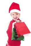 Shoping Weihnachten Lizenzfreie Stockfotos