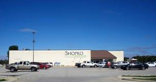 Shopko hemstaddetaljist, Illinois royaltyfria bilder