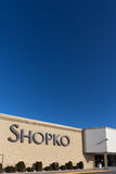Shopko Store Exterior and Sign Royalty Free Stock Photo