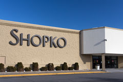 Shopko Store Exterior and Sign Stock Photography