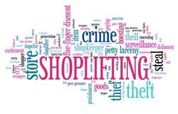 Shoplifting Stock Photography