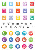 Shopp Icons Royalty Free Stock Images