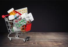 Shoppa återförsäljnings- rabatt arkivfoto