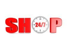 Shoppa Royaltyfri Fotografi
