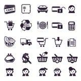 Shoppa Arkivbild