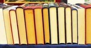 Shoppa av begagnade böcker Arkivbilder