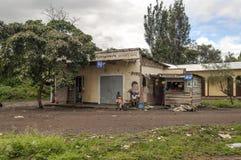 Shoppa av Tanzania Royaltyfri Fotografi