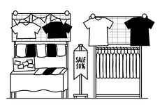 Shoppa designen Royaltyfri Fotografi