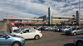 Shoppa diversehandelkomplex n Rishon LeZion för G två Arkivfoto