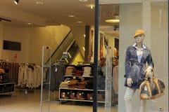 shoppa fönstret Royaltyfri Foto