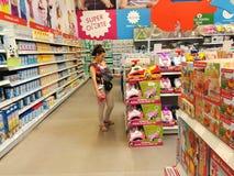 Shoppa för barn och newborns Arkivbild