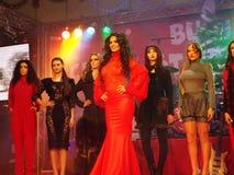 Shoppa för Bucharest jul Royaltyfri Foto