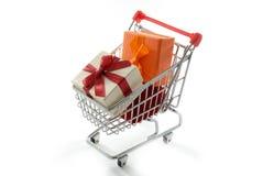 shoppa för gåvor Royaltyfri Fotografi