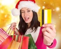 Shoppa för jul. Royaltyfria Bilder