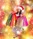 Shoppa för jul. Royaltyfri Fotografi