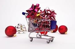 shoppa för jul Royaltyfri Bild