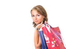 shoppa för påsar Royaltyfri Fotografi