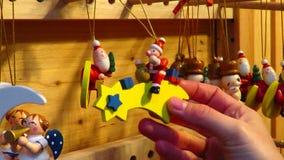 Shoppa för träSanta Claus Christmas Tree Ornament med stjärnan