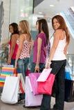 shoppa för vänner Arkivfoto