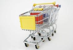 shoppa för vagnar Fotografering för Bildbyråer