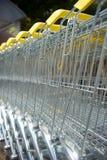shoppa för vagnar Royaltyfri Foto