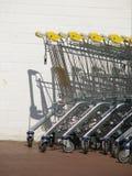 shoppa för vagnar royaltyfri bild