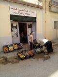 shoppa hanout Royaltyfri Fotografi