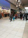 Shoppa i Cambridge Royaltyfria Foton