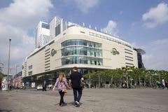 Shoppa i Frankfurt Arkivfoto