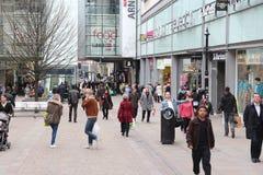 Shoppa i Manchester UK Royaltyfri Bild