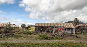 Shoppa i Tanzania Arkivfoton