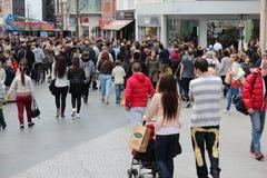 Shoppa i UK Royaltyfri Fotografi
