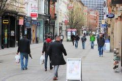 Shoppa i UK Royaltyfri Foto
