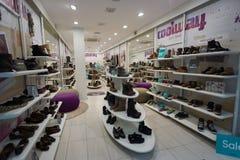Shoppa inre Fotografering för Bildbyråer