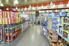 Shoppa inre Royaltyfria Foton