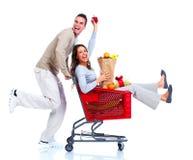 Shoppa par. Royaltyfri Fotografi