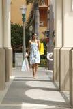 shoppa som är stads- Arkivfoto