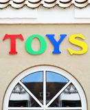 shoppa toys Arkivfoton