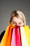 Shoppaholic Stock Images