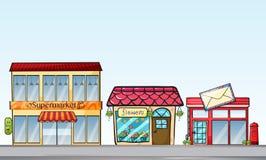 shoppar vektor illustrationer