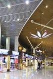 shoppar den fria kliaen för flygplats skatter royaltyfri fotografi
