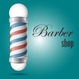 Shoppar den glass barberaren för realistisk gammalmodig tappning polen Royaltyfria Foton