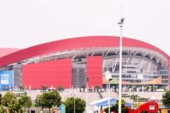 Shoppar den olympiska kroppen för Nanjing ungdom Arkivbilder