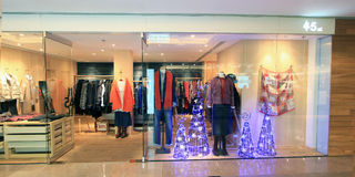 45a shoppar i Hong Kong Royaltyfri Fotografi