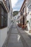 Shoppar i Mijas, Spanien royaltyfria bilder