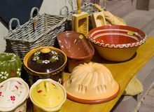 Shoppar med souvenir i Alsace, Royaltyfri Bild