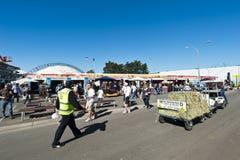 shoppar outback show Arkivfoton